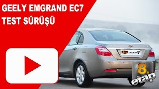 Geely Emgrand EC7 - 8. ETAP