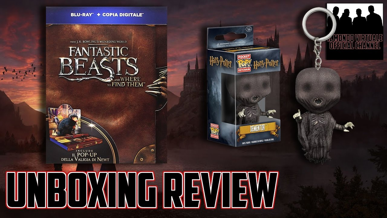 UNBOXING REVIEW Blu-Ray Animali Fantastici con Pop-Up ...