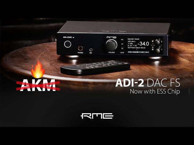 ADI-2 DAC FS now ships with ESS Chips
