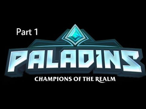 Paladins beta | Part 1 | (Xbox One gameplay livestream)