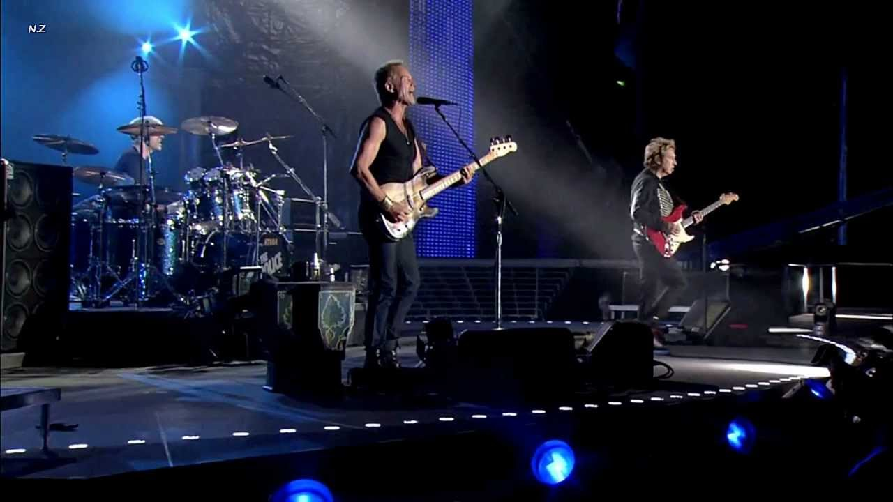 The Police Can T Stand Losing You 2008 Live Video Hd Youtube