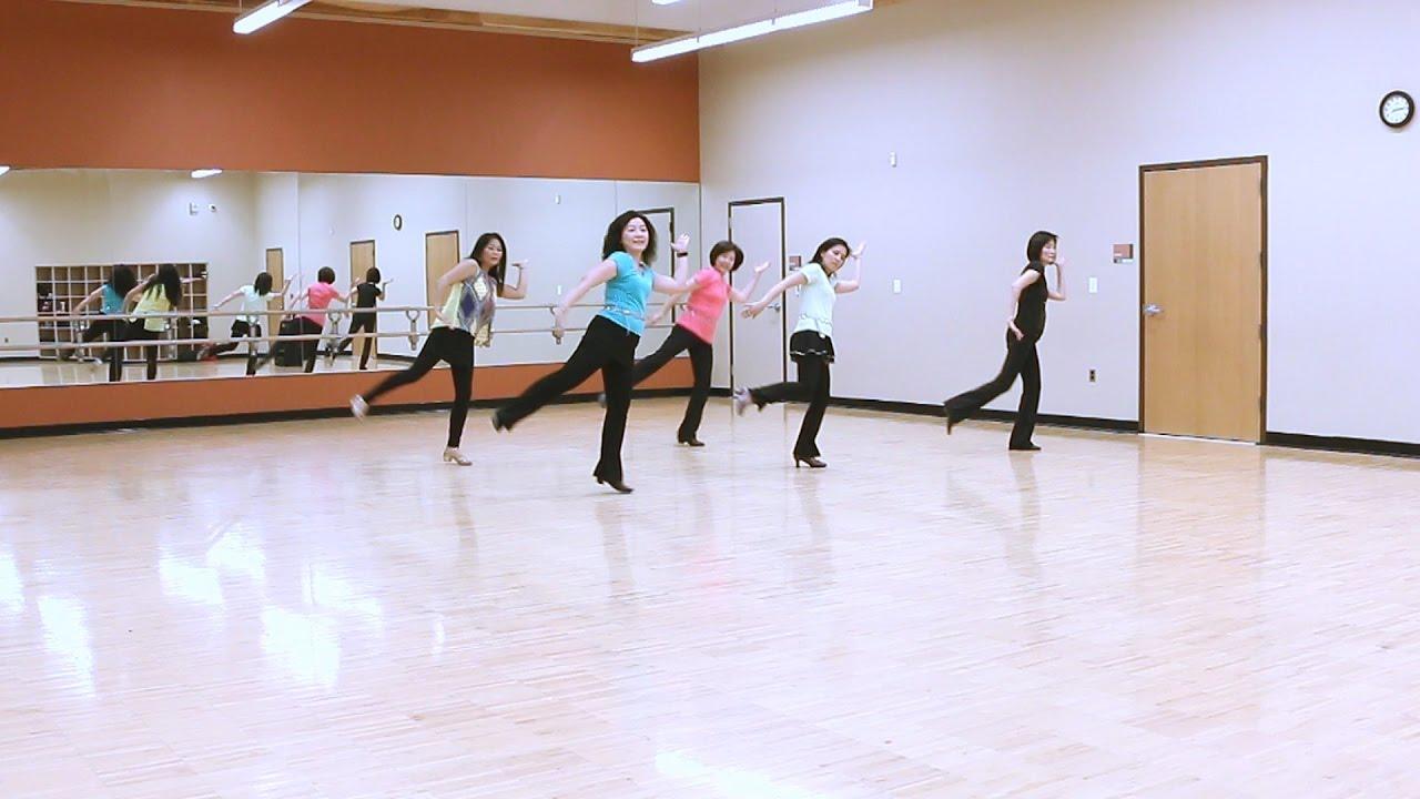 Bollywood 45 Line Dance Dance Teach Youtube