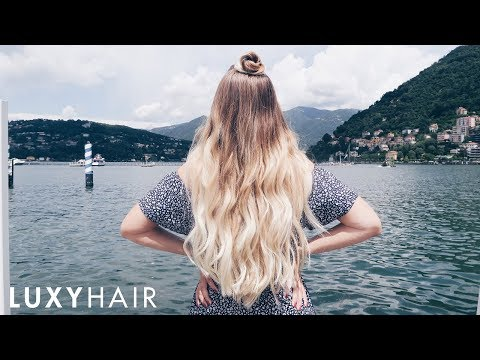 3 Easy Travel Hairstyles | Let's Visit Italy | Luxy Hair