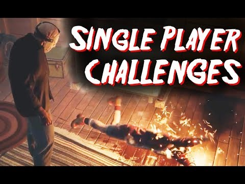 SINGLE PLAYER CHALLENGES - Friday the 13th: The Game (PS4)