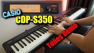 CASIO CDP-S350 Tones Demo | Organ Harmonica Accordion