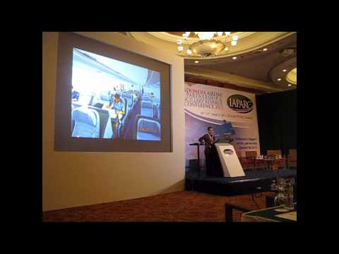 IAPARC 2013: Flight Focus launch their Wireless IFE&C solutions