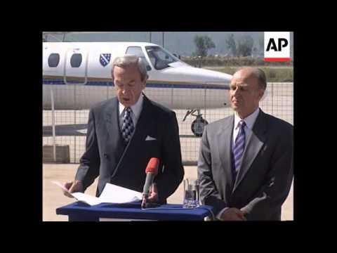 Bosnia - Sarajevo airport reopened