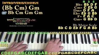 Make Me (Britney  Spears) Piano Lesson Chord Chart