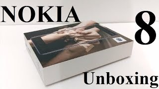 Nokia 8 - Unboxing and First Impressions