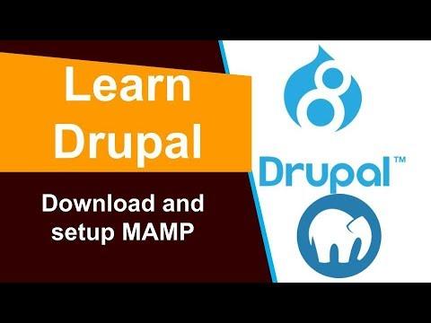 Download and setup MAMP - YouTube