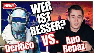 Repaz VS. Nico - WER IST BESSER?!   Fortnite Battle Royale