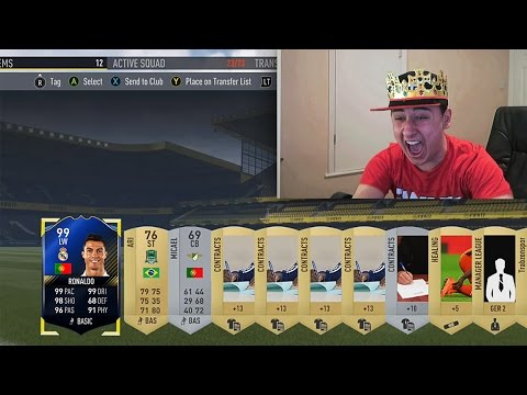 TOP 100 LUCKIEST FIFA PACKS OF ALL TIME !!!