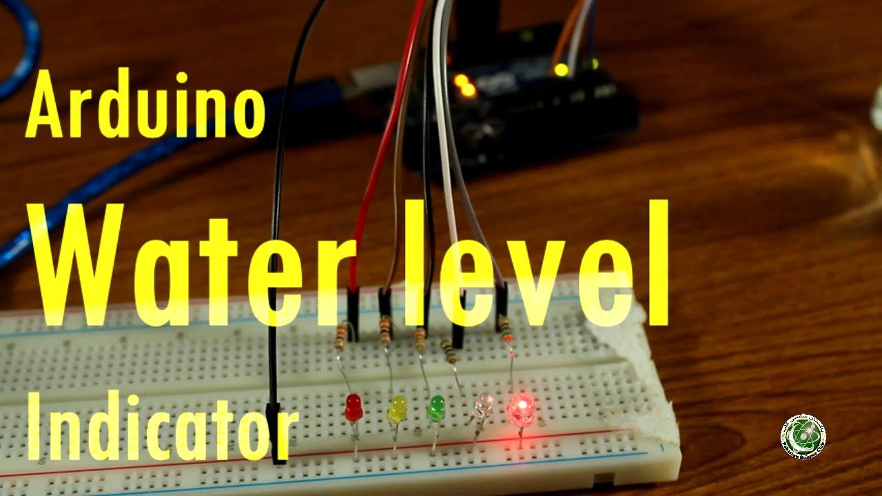 Arduino Tutorial 9 In Urdu Arduino Water Level Indicator