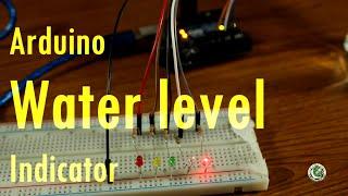 Arduino tutorial #9 in Urdu, Arduino Water level Indicator