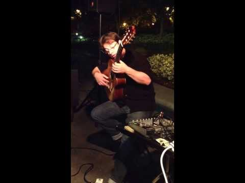 David Wayne plays Tears in Heaven California 26102013