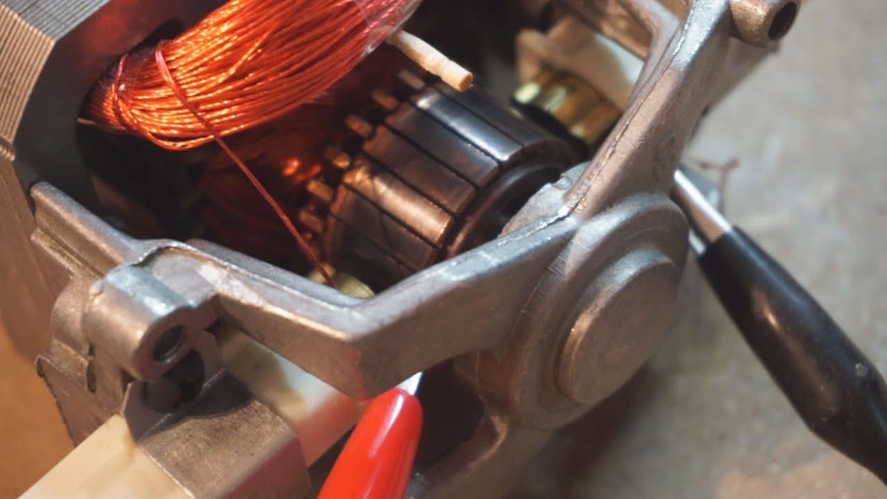 Universal vacuum motor generator effects... - YouTube