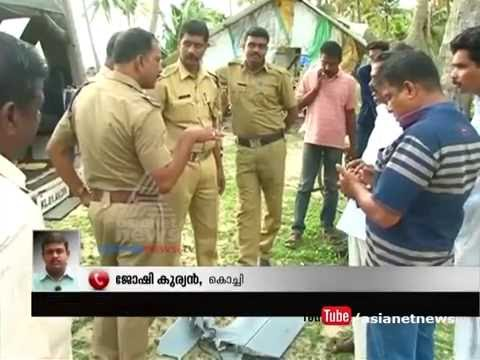 Debris of aircraft found on Chethi beach in Alappuzha