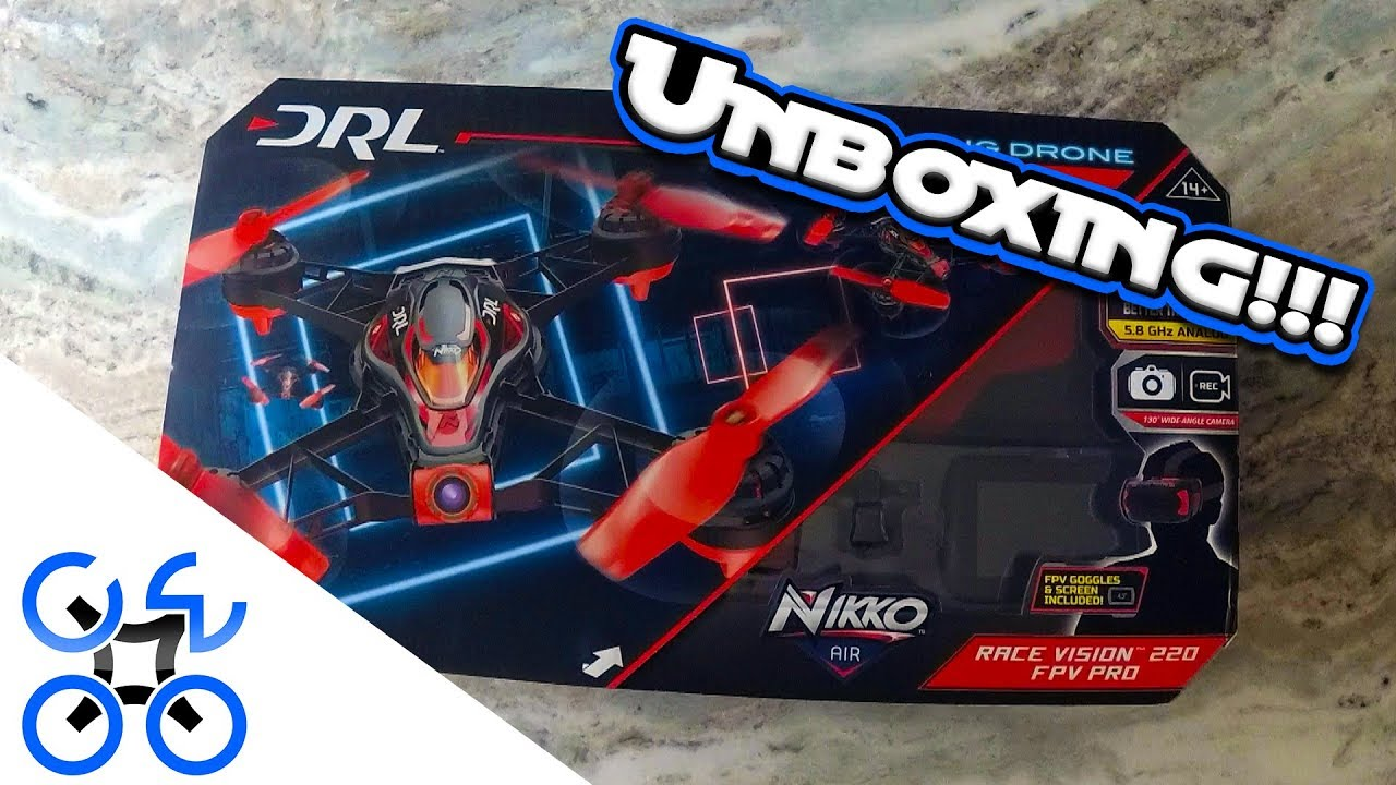 Drl Race Vision 220 Fpv Pro By Nikko Air Unboxing