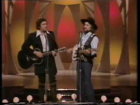 WAYLON JENNINGS & JOHNNY CASH Even Cowboys Get The Blues