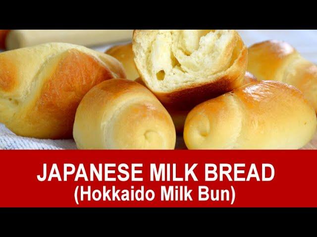 Japanese Milk Bread Hokkaido Milk Bun The Softest Lightest Bread Ever Youtube