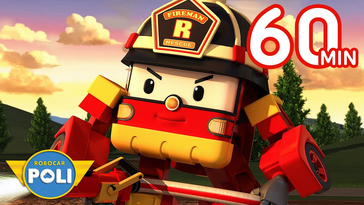 Robocar POLI Season 1 Full Episode | 60min | A Gift For Cleany | Cartoon for Kids | Robocar POLI TV