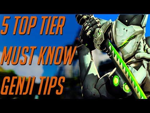 Top Tier Genji Top 5 MUST Know Tips