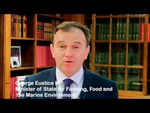 George Eustice MP opens Reaseheath College Food Procurement Conference