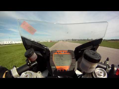 KTM RC8, Grand Bend, Technical Track, September 13, 2016