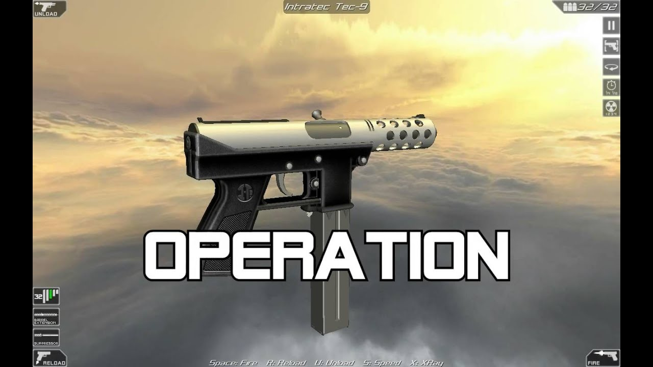 Intratec TEC-9 (full disassembly and operation)
