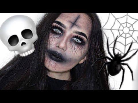 SATANIC ZOMBIE-NUN |  Halloween Makeup Tutorial 2O18