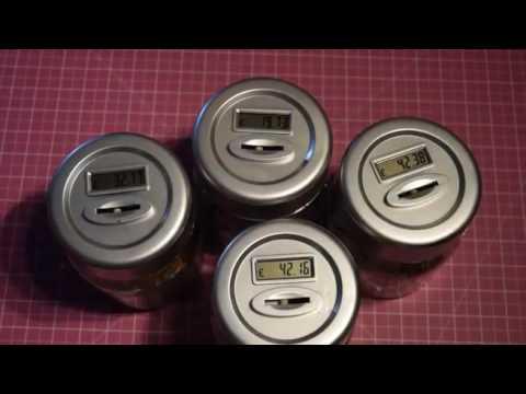 Global Gizmos Benross Digital Money Jar Reviews