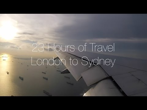 Travel Blog: 23 Hours Of Travel - British Airways London Heathrow To Sydney Australia