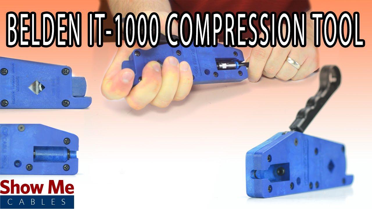 Thomas /& Betts LRC IT1000 Snap-n-Seal Strip And Crip Tool