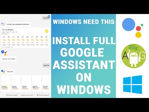 How to Install and Use Google Assistant on Windows (Full with UI and other apps / MEMU)