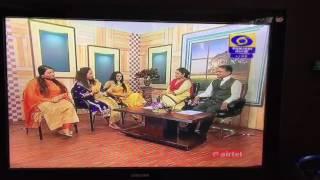 Sufi sisters interview  on DD Punjabi live (Navi udaari)