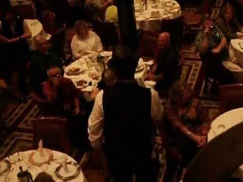 Carnival Spirit Empire Dining Room Song