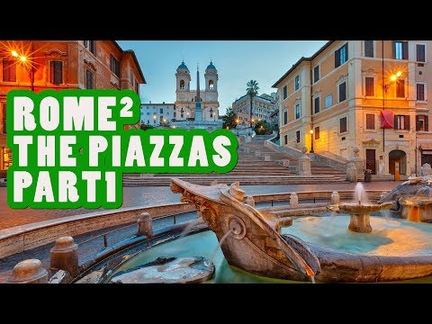 ROME SQUARED THE CITY'S BEST PIAZZAS 1