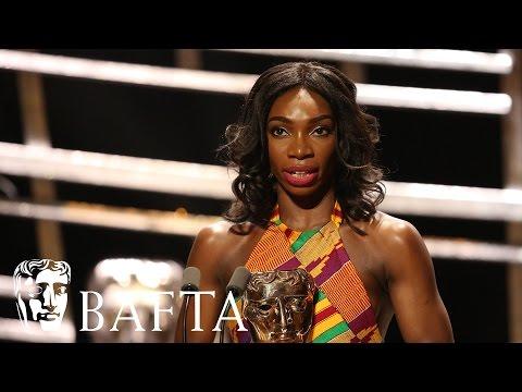 Michaela Coel's Inspiring Acceptance Speech   BAFTA TV Awards 2016