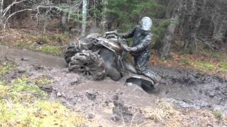 Can-Am Renegade breaks an axle