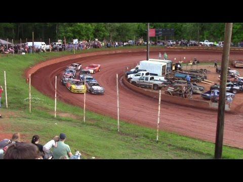 Winder Barrow Speedway Modified Street Feature Race 4/23/16