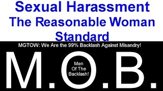 """Sexual Harassment: The """"Reasonable Woman"""" Standard - MGTOW"""