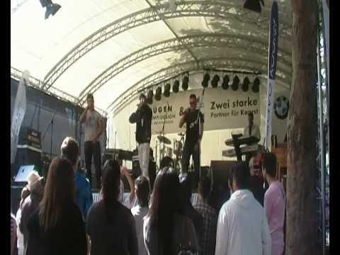 Ls-g feat Nimra g &Armend (es ist mir egal) kaarst total live