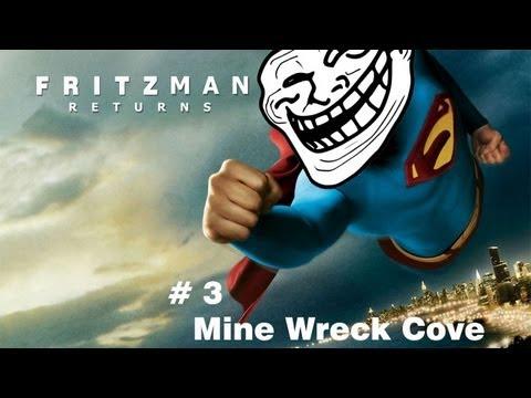 Fritzman Plays Minecraft S1 EP3 - Mine Wreck Cove server - valleys and elevators