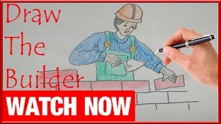 How To Draw The Builder - Learn To Draw - Art Space