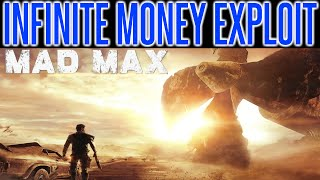 Mad Max - INFINITE MONEY EXPLOIT TIPS | Scrap Glitch | Parts | Tutorial | How To | PS4 XBOX PC