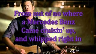 Blake Shelton- Some Beach (Lyrics)