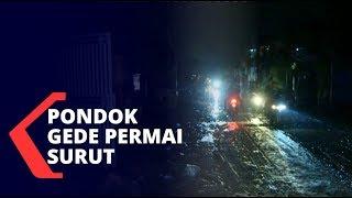 Begini Situasi Banjir Pondok Gede Permai yang Mulai Surut