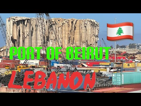 #theportofbeirutLebanon 🇱🇧 port of Beirut what now?? This can only happens in Lebanon