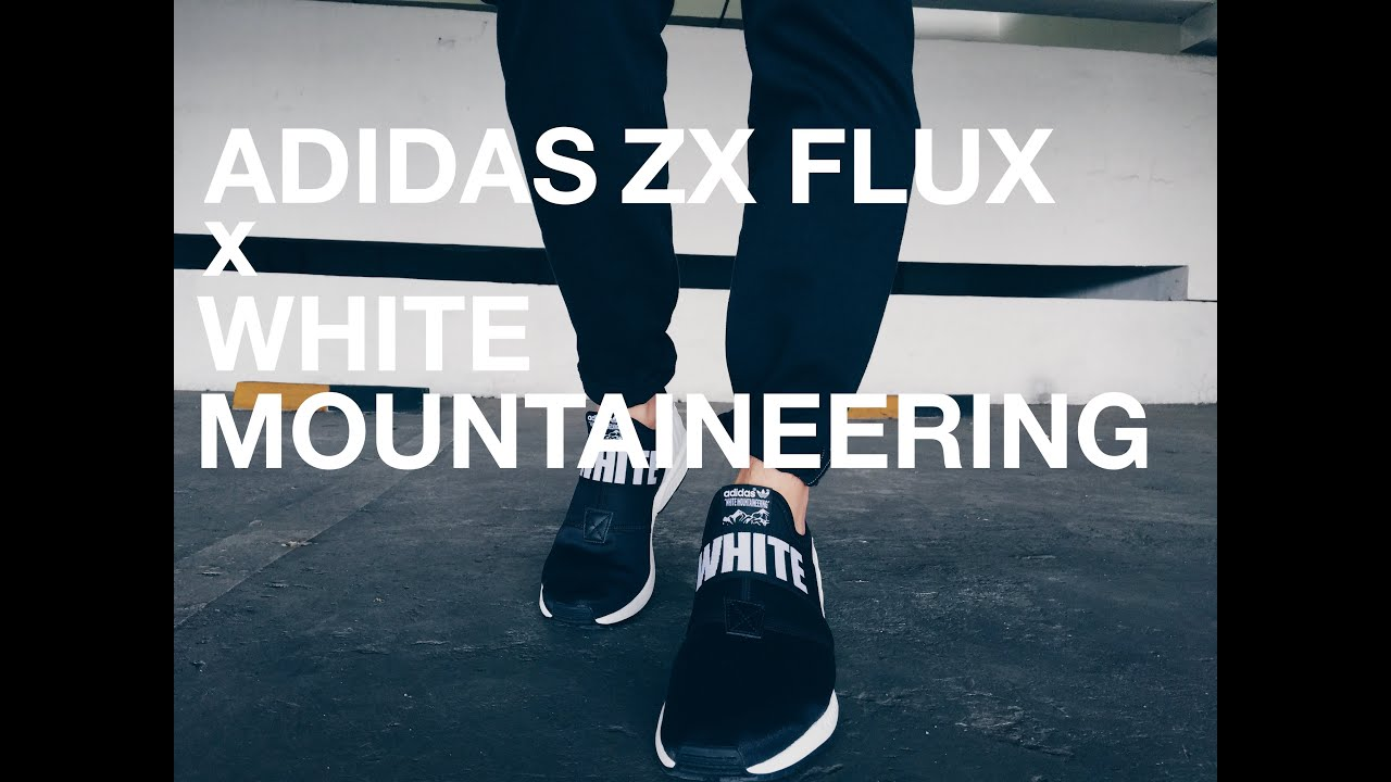 Adidas Zx Flux White Mountaineering