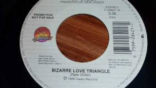 New Order - Bizarre Love Triangle 45rpm special radio mix edit
